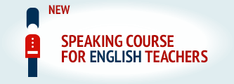 Speaking course for English teachers